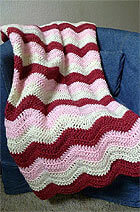 Crochet Berry Parfait Blanket