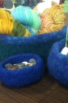 Felted Stacking Bowls
