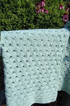 Cross Weave Baby Blanket