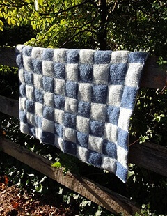 Quilted Double Knit Afghan