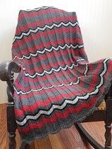 Chevron Adventure Afghan