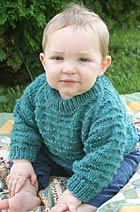 Raglan Baby Sweater