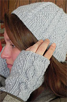 Download Hat and Fingerless Mitts