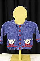 Baby-sized Teddy Bear Sweater