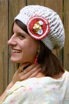 Download Lattice Slouch Hat