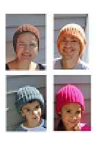 Download Crochet Ribbed Hat