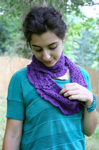 Download Flower Infinity Scarf