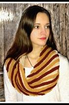 Bias Stripe Cowl