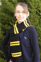 Pattern of the Month - Hockey Scarf