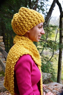 Download Broken Rib Hat & Scarf