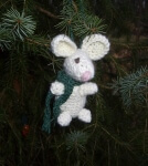 Pip the Mouse Christmas Ornament
