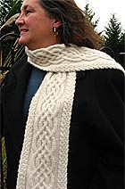 Download Celtic Cable Scarf