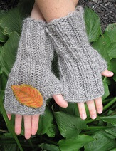 Download Chunky Fingerless Mitts