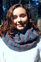 Download Staggered Rib Chunky Cowl