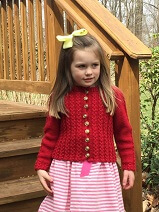 Download Child's Mock Cable Sweater
