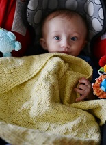 Pattern of the Month - Kitten Whiskers Baby Blanket