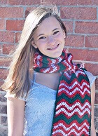 Download Merry Pompom Scarf