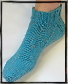 Worsted Ankle Socks